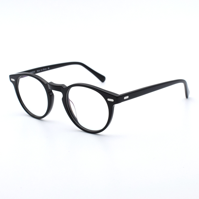 515eb6b29b Vintage Optical Glasses Frame Gregory Peck OV 5186 Round Retro Prescription  Eyeglasses For Men and Women Oval Eyewear Frames