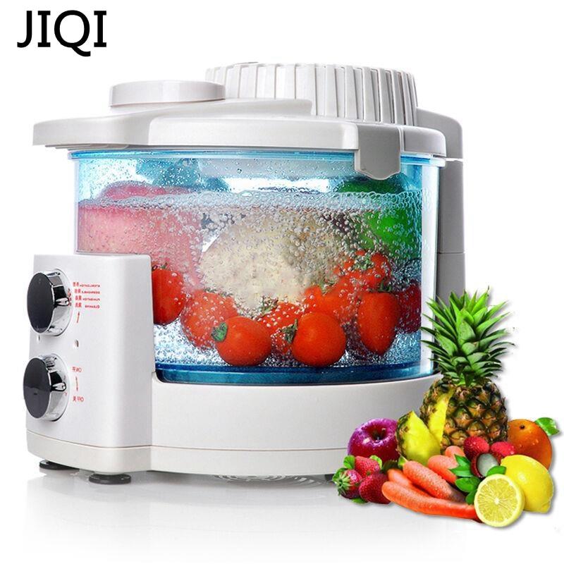 JIQI Ozone machine Vegetable washer Household automatic fruit vegetable disinfection machine sterilizing detoxification machine automatic spanish snacks automatic latin fruit machines