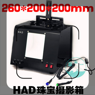LED Mini Photo Studio Photography Light Box Photo Box Softbox Jewelry ,diamonds Lighting Boxes Qt295  CD50Y