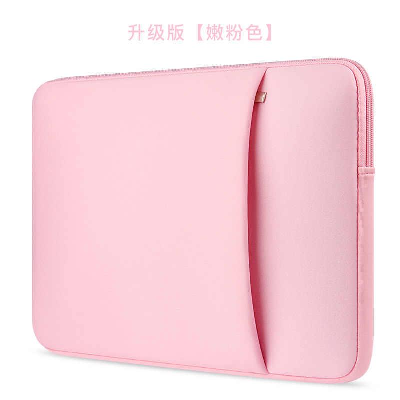 """Üç renk dizüstü dizüstü bilgisayar çantası kol çantası debriyaj cüzdan bilgisayar cep için 11 """"12"""" 13 """"15"""" 15.6 """"Macbook Pro hava Retina"""