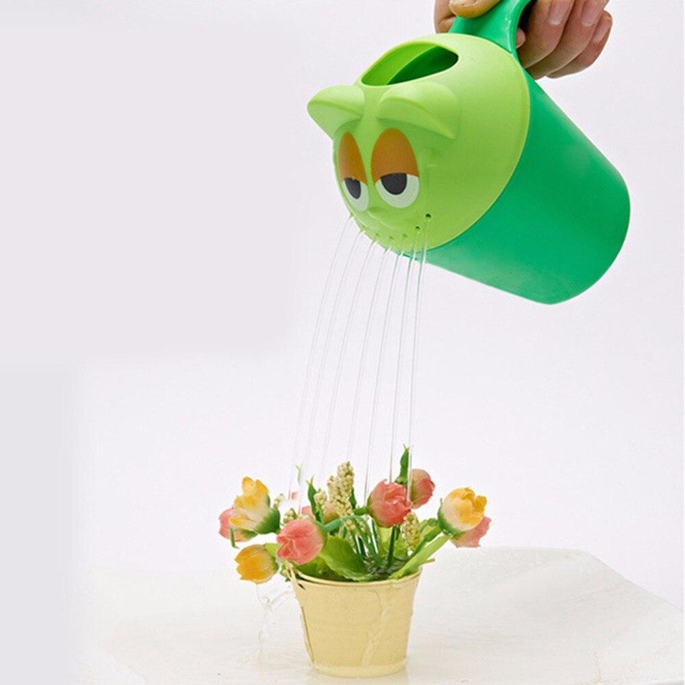 Baby Shower Spoon Animal Bathing Shampoo Wash Water Cup Cute Owl Washing Machine