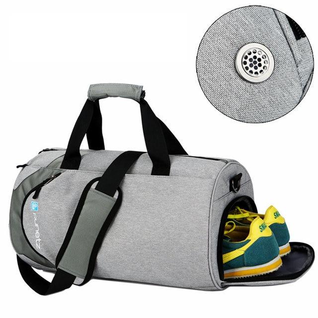 Impermeable bolsas de deporte grande de los hombres bolsa de gimnasio con  compartimento para zapatos 2019 8652ce6da0226