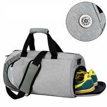 fdae30956ca35c Waterproof sport bags men Large Gym bag with shoe compartment 2019 sac de  Women yoga fitness
