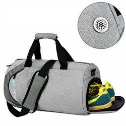 Sacos de desporto dos homens à prova d' água Grande saco de Ginásio com compartimento de sapato 2019 saco de Mulheres yoga aptidão saco de mão de viagem Ao Ar Livre saco da bagagem