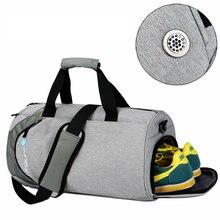 Водостойкие спортивные сумки мужские большие спортивные сумки с обувью отсек для обуви 2019 sac de Женские Йога фитнес сумка Открытый путешествия Компактная сумка для поездки