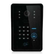 YobangSecurity RFID Password Keypad IR Night Vision Camera For Video DoorPhone Video Intercom Home Doorbell System