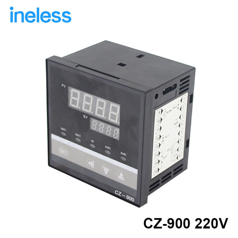 ФОТО Free Shipping RKC PID Temperature Controller REX-C900 Universal Input Relay Output 96*96mm