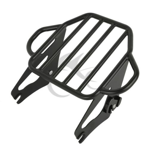 Motorcycle Detachable Two Up Tour Mounting Luggage Rack For Harley Electra Glide Road King Road Glide
