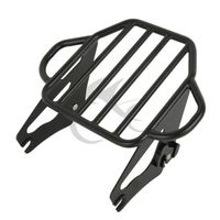 Motorcycle Detachable Two Up Tour Mounting Luggage Rack For Harley Electra Glide Road King Road Glide 2009 2018
