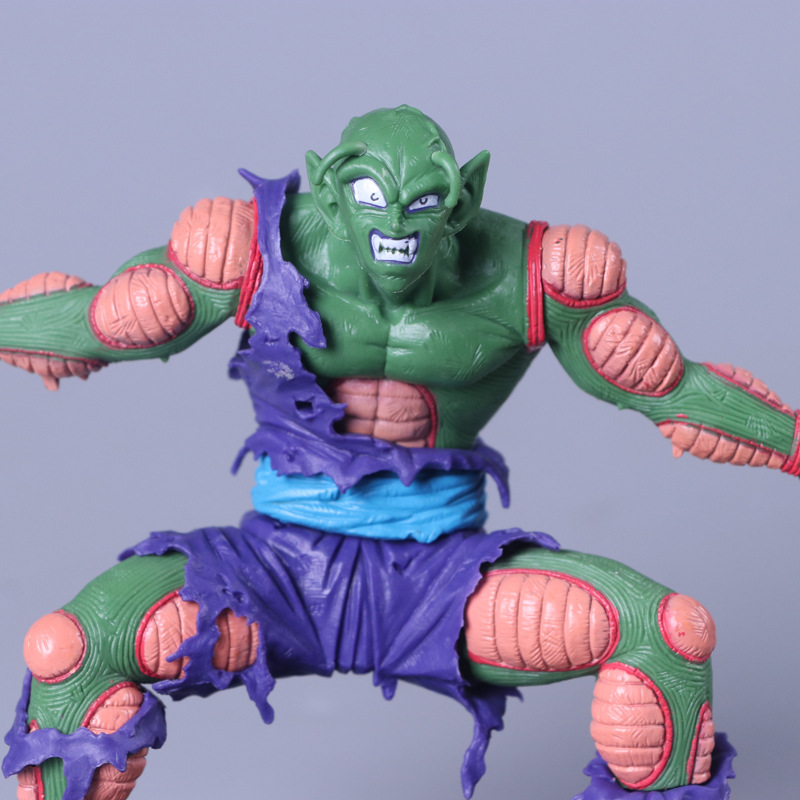 13CM Dragon Ball Piccolo Toy PVC Anime Figure Saiyan Model Action Figures Doll Decoration Kids Gift Z79