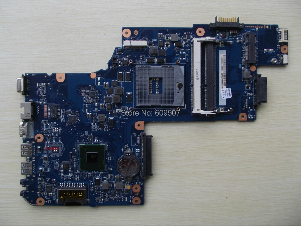 for toshiba satellite C850 laptop motherboard 15'' HM70 HD4000 Graphics DDR3 Mainboard H000050950 image