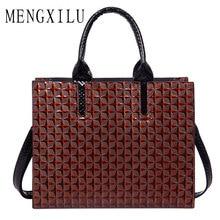 Mengxilu кожа Сумки Для женщин известный бренд большой Для женщин Сумки багажник тотализатор испанского бренда сумка Дамы Большой Bolsos Mujer