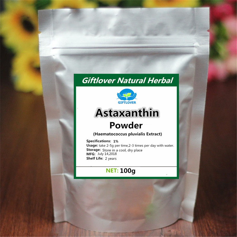 High quality Astaxanthin Powder,Haematococcus pluvialis Extract for anti aging anti cancer,C40H52O4,[CAS]472-61-7,Best Choose natural astaxanthin powder 1