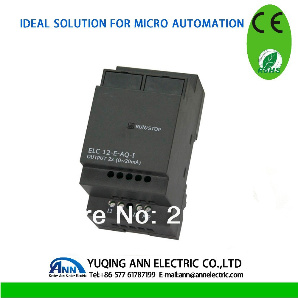 ELC12-E-AQ-I,Standard ELC-12 Series Expansion Modules,2 Channels output,Current Signal elc12 e 8dc da r standard elc 12 series expansion modules 4 input 4 output