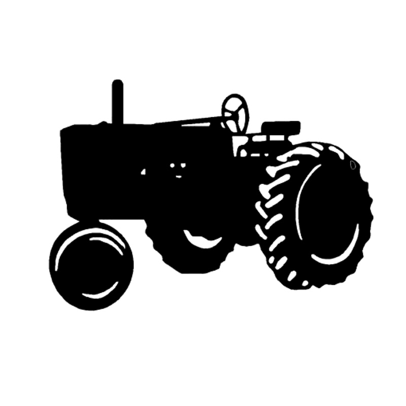 17 1cm 12 2cm Tractor Farm Vinyl Car Styling Stickers