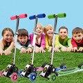 2016 folding kids child bay flash scooters car baby walker car children kids adjustable height skateboard drift car luge