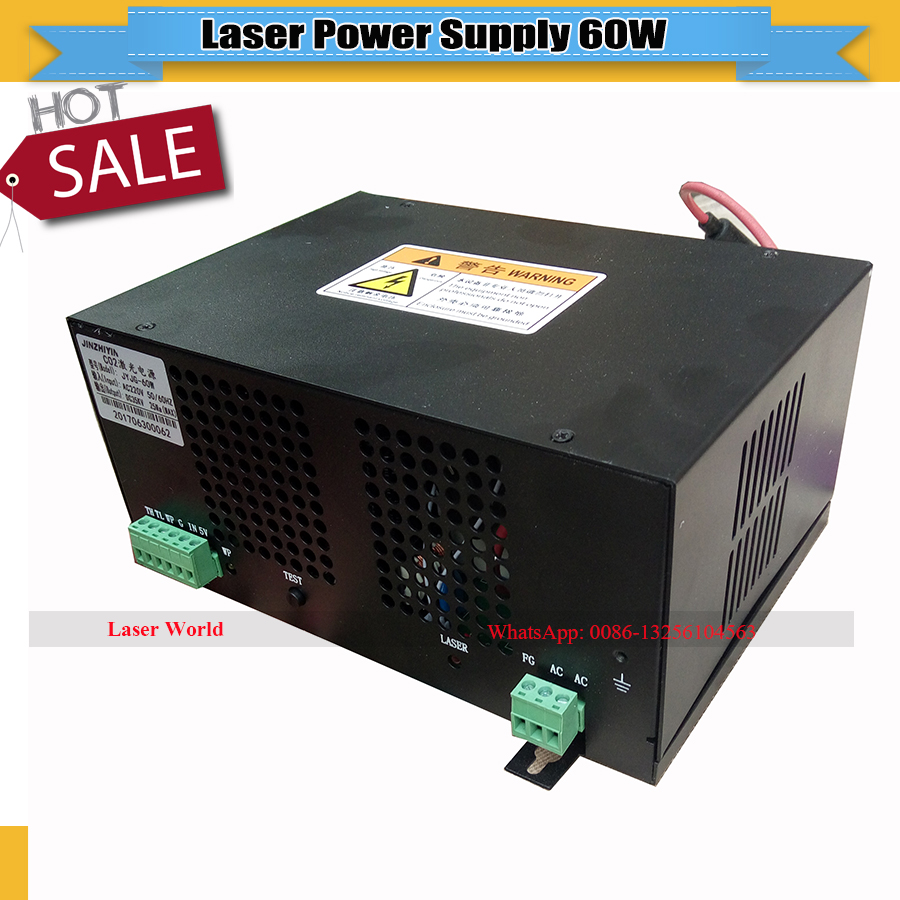 Laser Co2 Power 60w for King rabbit Laser Cutting Machine