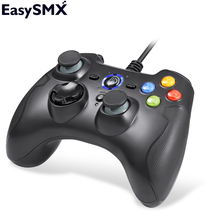 New Hot ESM-9100 Wired Game Controller Gamepad Joystick with TURBO TRIGGER Button Joypad for PC PS3 TV Box Android Smartphone