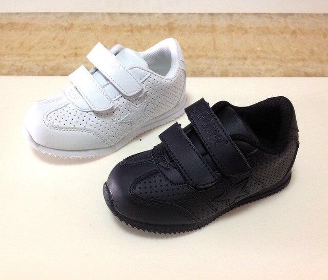 zapatos niños zapatillas escolar goma niñas 2014 calzado negro uniforme blanconiño chicos sólida de qYxYB0aT
