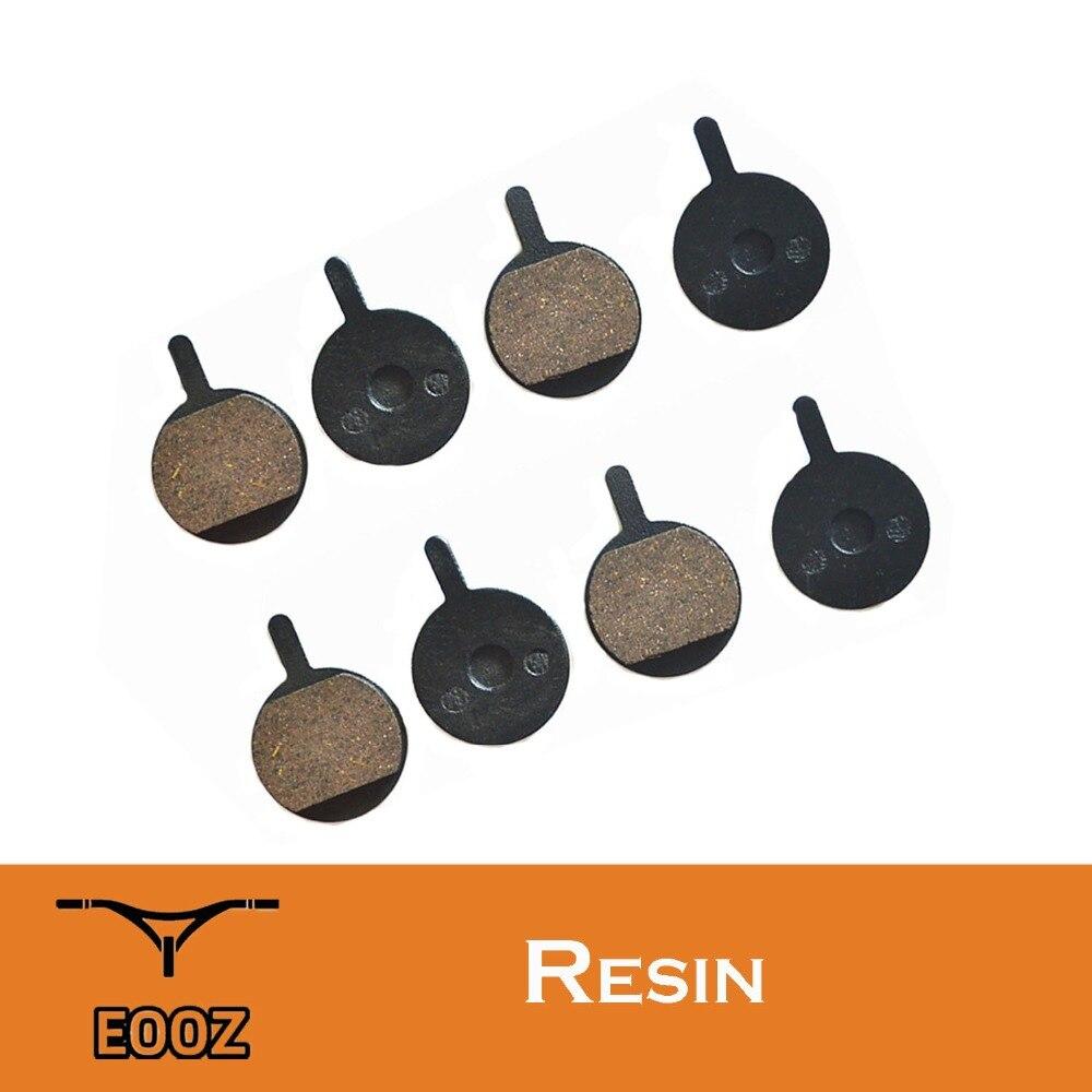 8pcs Resin /& Semi-Metallic Bicycle Bike Disc Brake Pads for PROMAX DSK-400 XNINE