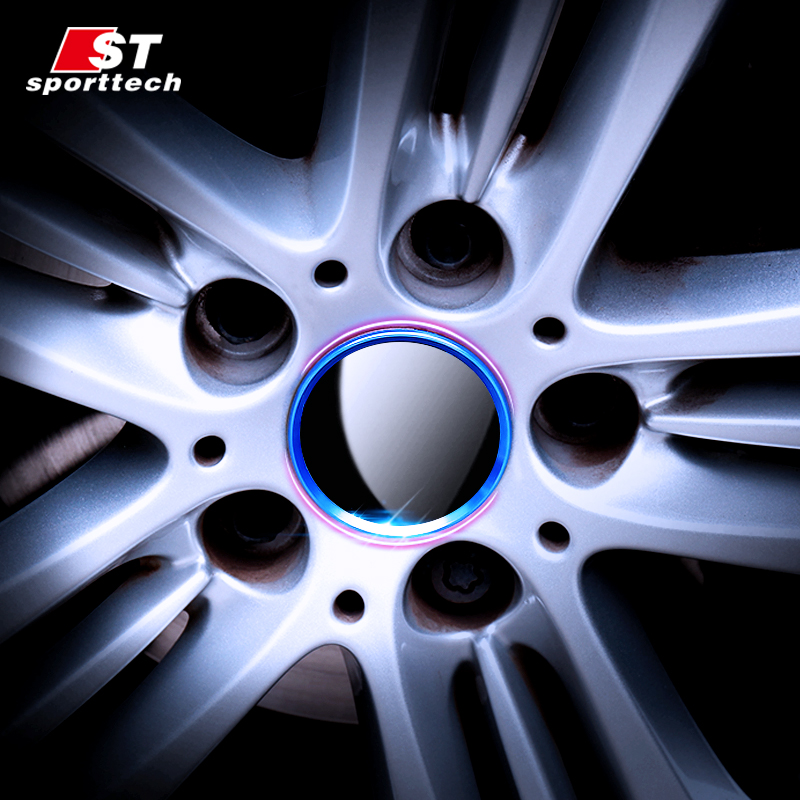 Car Wheel Sticker For BMW 1/2/3/5/7 Series X1/3/4/5/6 F20/F21/F22/F23/F45/F46/F30/F31/F34/F01/F03/F04/F48/F49/F25/F26/F15/F16
