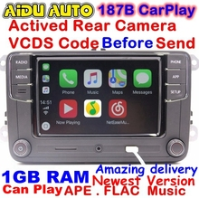 RCD330 Plus CarPlay Radio 1 GB RAM Für VW Golf 5 6 Jetta MK5 MK6 CC Tiguan Passat Polo 6RD 035 187 B 6RD035187B RCD510 RCN210