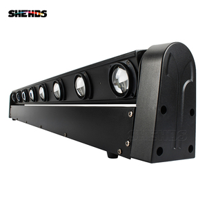 Image 2 - Fast Shipping 8x12W RGBW Multicolor LED Bar Beam Moving Head Light For DJs Sets Venue With Strong Daylight
