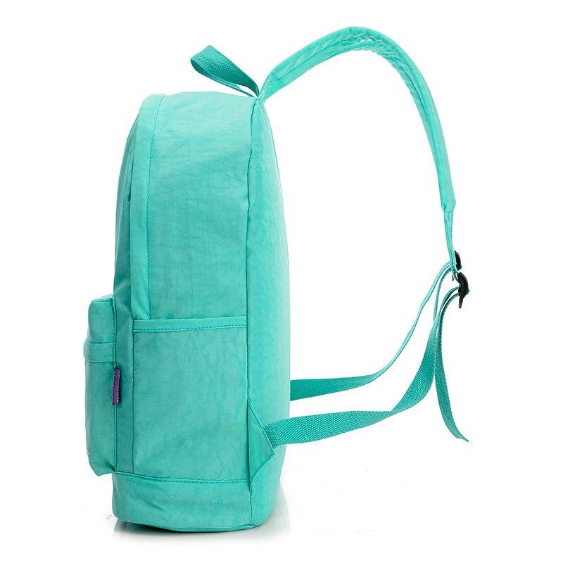 jingqiaoer mulheres mochila de nylon Abacamento / Decoração : Nenhum