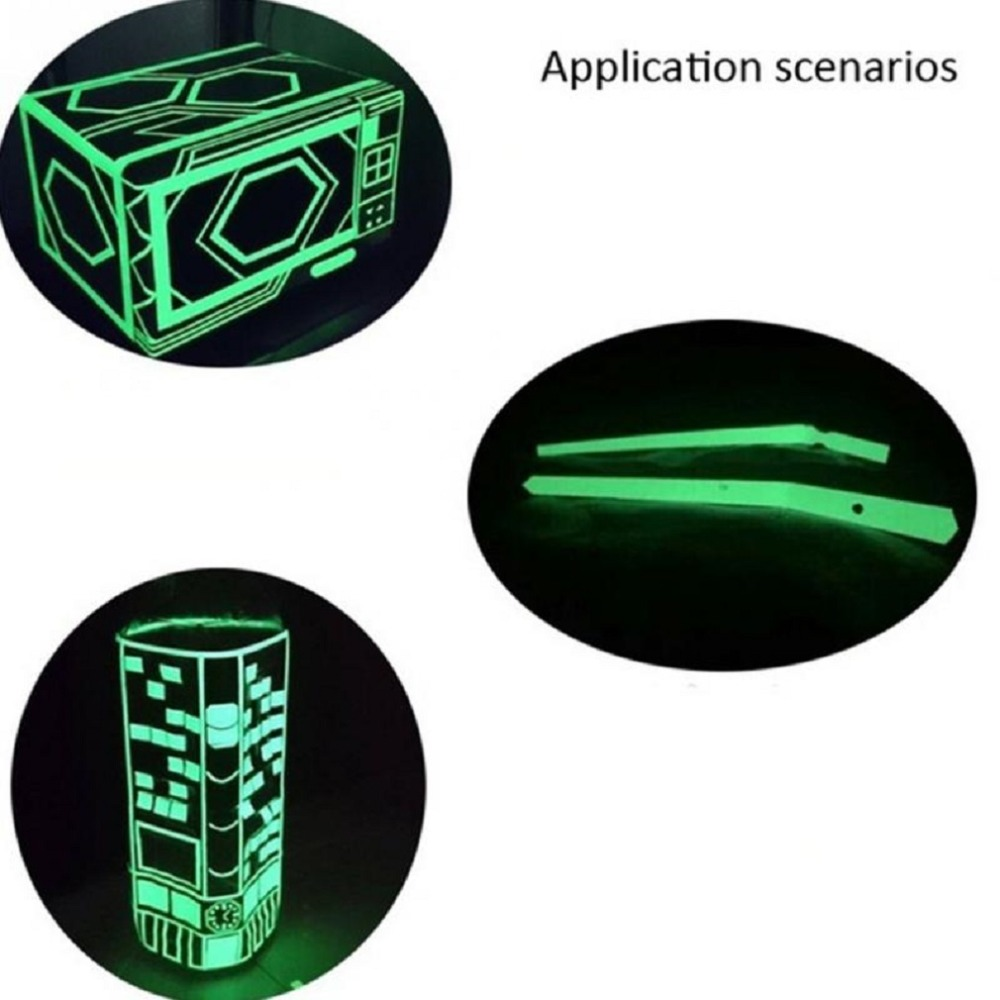 Купить с кэшбэком LESHP Luminous Tape 3M Length Self-adhesive Tape Night Vision Glow In Dark Safety Warning Security Stage Home Decoration Tapes