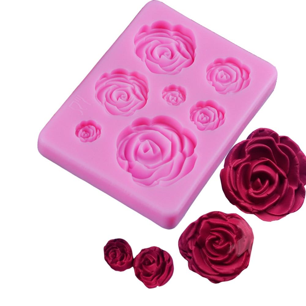 3D-Silicone-Mold-Rose-Flower-Sugarcraft-silicone-mold-fondant-mold-cake-decorating-tools-chocolate-gumpaste-mold