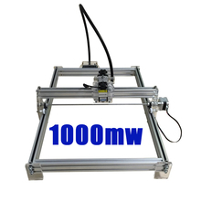 1000mw mini laser engraving machine laser engraving 35 50cm engraving machine laser wood plastic bottle cutter
