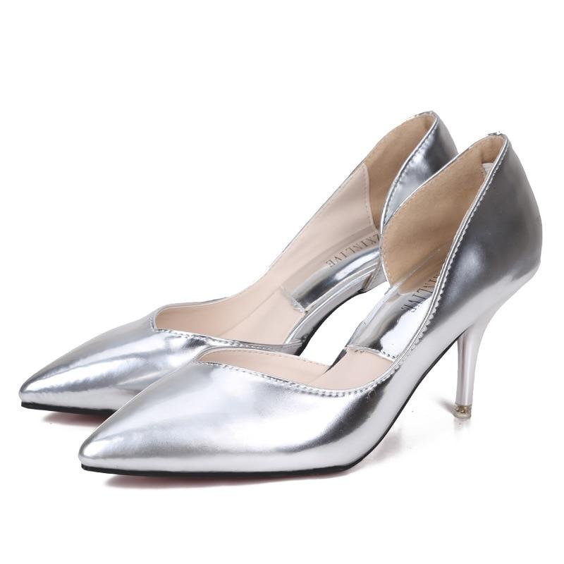 Women/'s Kitten Wedding Bridal Shoes Pointed Toe Stiletto Nightclub Pumps Shoes