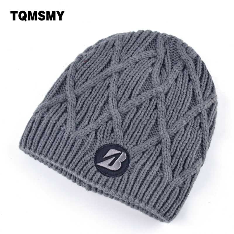 Embroidery letter hat men skullies women's winter hats Double layer Hip-hop Cap Knitted wool bone beanies women gorros mask caps 2017 winter women beanie skullies men hiphop hats knitted hat baggy crochet cap bonnets femme en laine homme gorros de lana