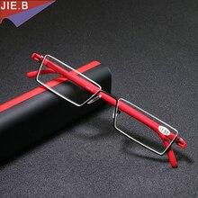 Ultra Lightweight Foldable Glasses men TR90 half Reading Glasses Women MINI Presbyopic Eyeglasses gafas de lectura lesebrille