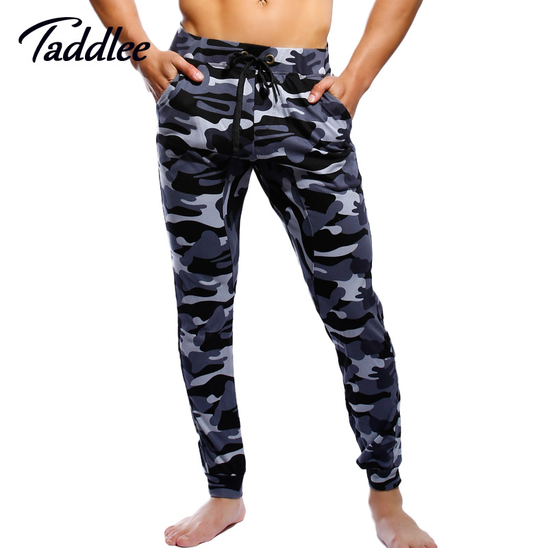 Taddlee Brand Men's Active Jogger Sports Pants Low Waist Baggy Full Length Bottoms Harem Pants Gym Runnig Military Sweatpants