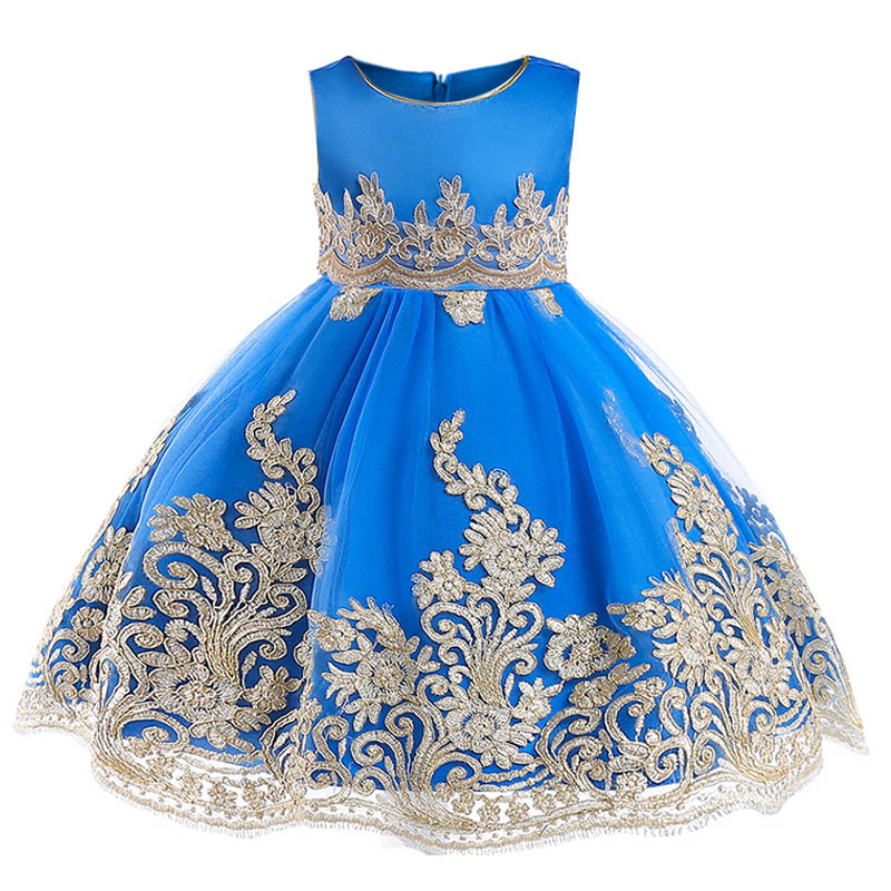 Baby tutu costume children's party   dress   first communion   dresses   for   girls   2019   flower   kids clothes little ladies   dress   L9029
