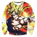 Classic cartoon Men Women Long Sleeve Outerwear Handsome Dragon Ball Goku 3D Sweatshirt Male Female Anime Crewneck Pullovers