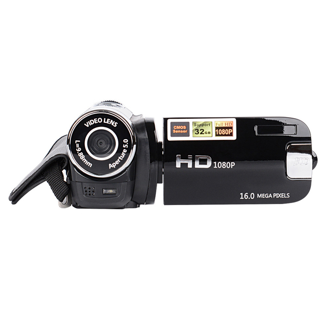 2018 Hot Sale 1080P HD Digital Camera DV DVR TFT LCD 16X Digital Zoom 16MP CMOS Anti Shaking HD Digital Camcorder