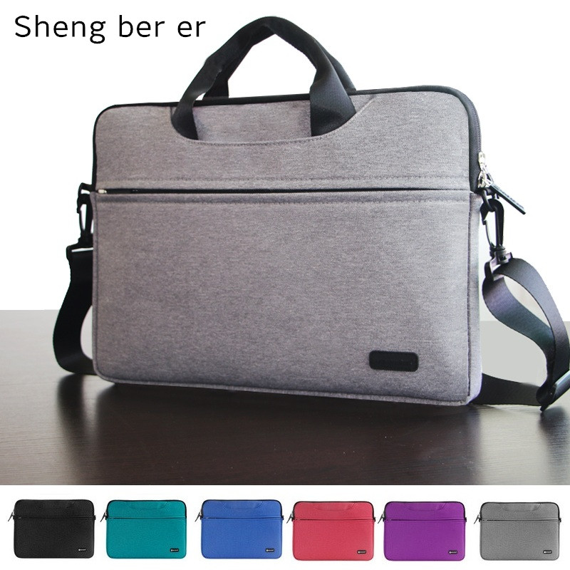 2018 New Brand Messenger Bag For Laptop 11.6,13.3,14,15.4,15.6 Handbag Case For Macbook Air/Pro 13 Bag, Free Drop Shipping oatsbasf genuine leather laptop bag for macbook pro air 13 3 rose