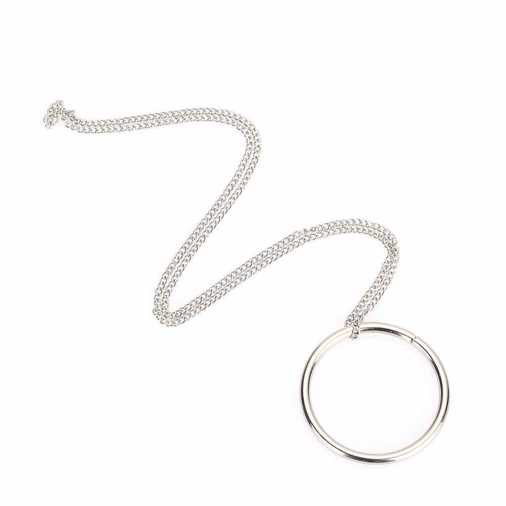 Ímã moeda dedo magnético colar adereços pro magia fantasia truques de metal clássico brinquedos anel magnético
