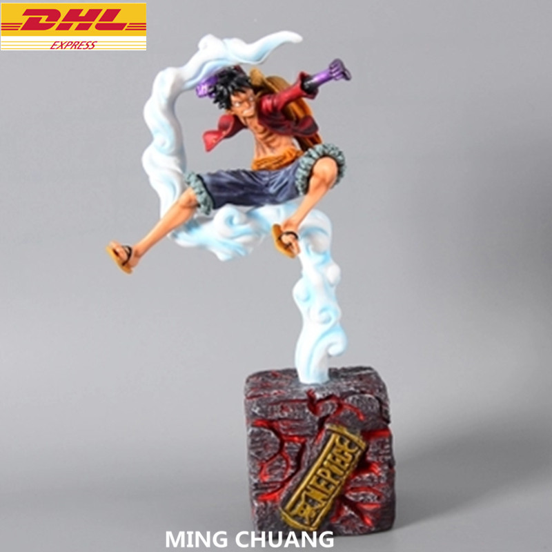 ONE PIECE Statue Monkey D. Luffy Bust The Straw Hat Pirates Full-Length Portrai GK Action Figure Collectible Model Toy D238 japan anime one piece the straw hat piratespop2 0 monkey d luffy pvc action figure collectible model toy 24cm