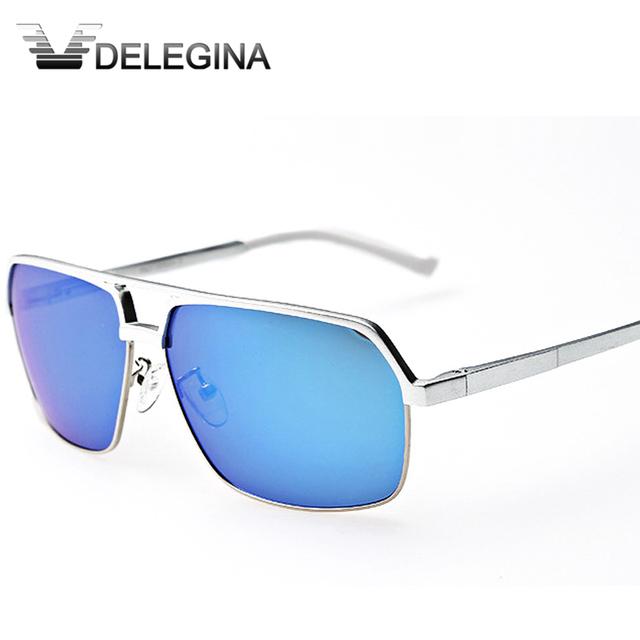 2017 Novos homens óculos de sol Óculos Polarizados para homens óculos de sol de vidro de Luxo Shades Condução