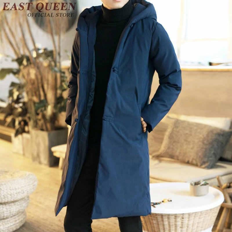 日本ストリートメンズトレンチオーバーコートの上着男性着物ジャケット男性冬服 2018 男性パーカー Jananese コート KK1949 H