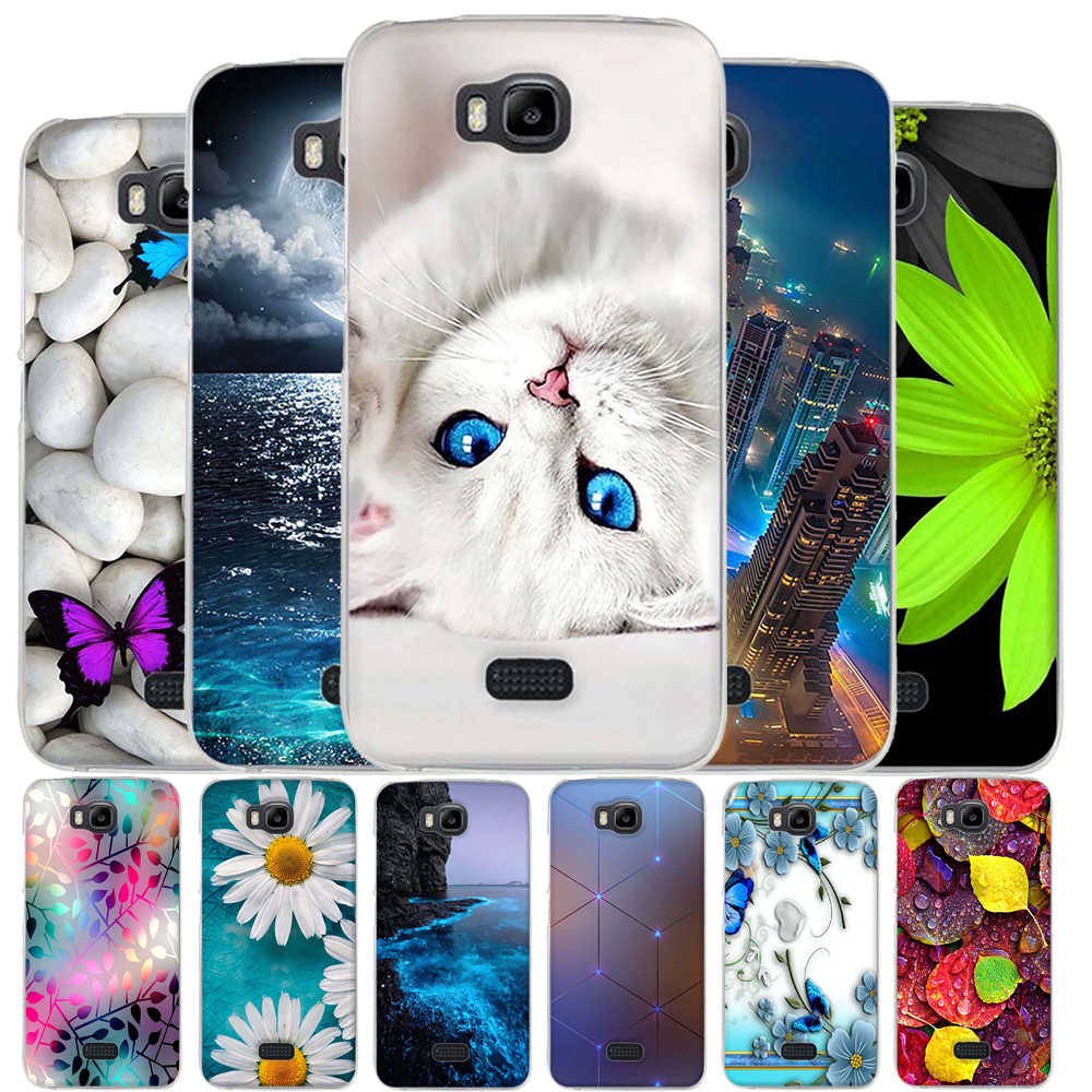 superior quality e4ae7 2bf81 Case For Huawei Y5C Case Cover Funda For Huawei Honor Bee y541 Y5C Case TPU  Silicone Coque For Huawei Honor Bee y541-u02 Cover