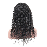 Deep Wave Full Lace Wigs Human Hair With Baby Hair Pre Plucked Brazilian Full Lace Human