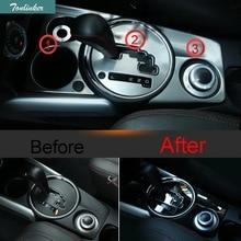 Tonlinker 3 шт. автомобиль новый Нержавеющаясталь Пять Стиль киосков декоративные Панель чехол Стикеры для Mitsubishi ASX 2013-15