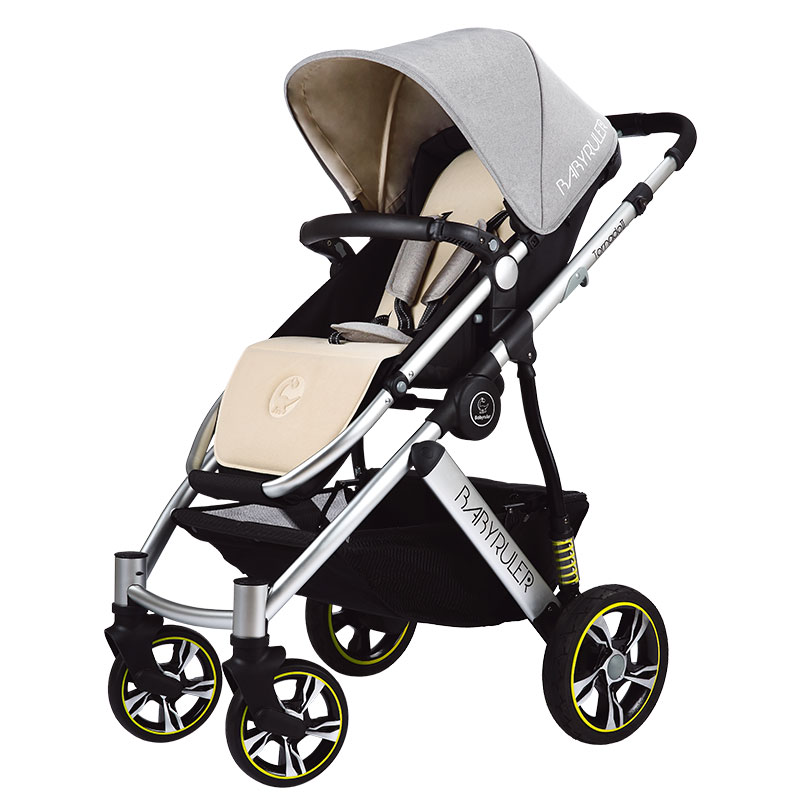 Babyruler newborn  brand baby stroller four wheels  shock absorbers child baby folding portable two-way car 4 runner carriage baby stroller babyruler ultra light portable four wheel shock absorbers child summer folding umbrella cart