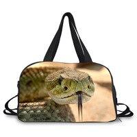 3d動物画像印刷新しいファッション大容量の女性の荷物袋旅行バッグプリント旅行荷物袋カジュアルバッ