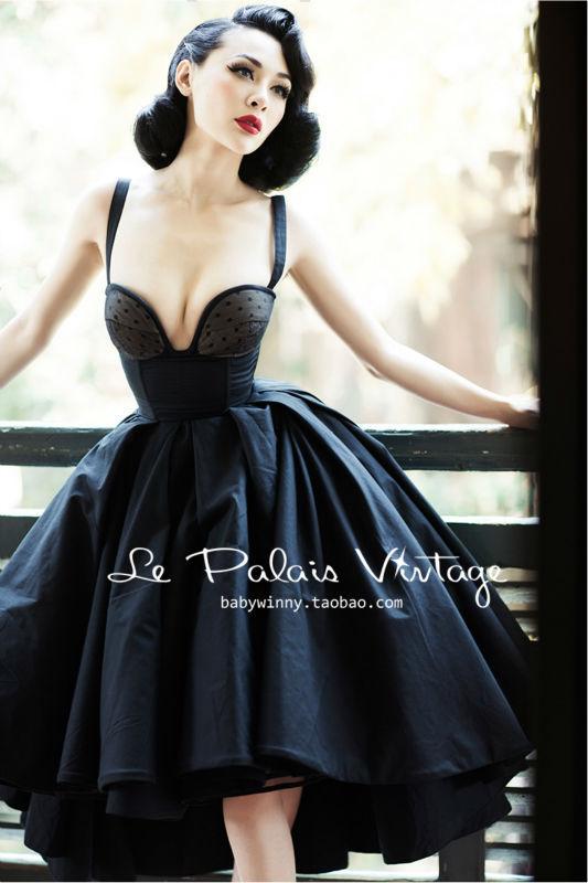Vintage Corset Dresses Promotion-Shop for Promotional Vintage ...