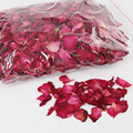 250g Dried Rose Petals Natural Bath Tools for Wedding Party Decoration Wedding Table Confetti Pot Petal Flower Bath